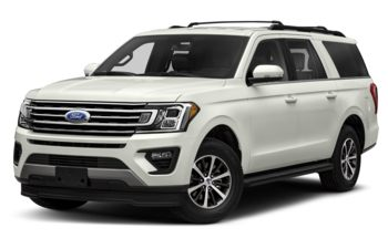 2018 Ford Expedition Max - White Platinum Metallic Tri-Coat