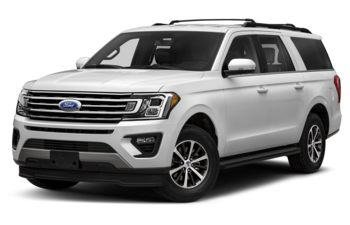 2020 Ford Expedition Max - Star White Platinum Metallic Tri-Coat