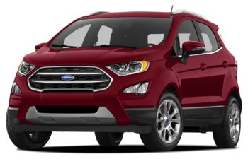 2018 Ford EcoSport - Ruby Red Metallic Tinted Clearcoat