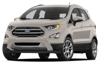 2018 Ford EcoSport - Moondust Silver Metallic