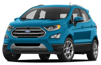 2018 Ford EcoSport - Blue Candy Metallic Tinted Clearcoat
