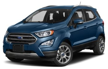 2019 Ford EcoSport - Lightning Blue Metallic