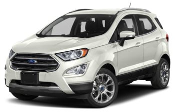 2019 Ford EcoSport - White Platinum Metallic Tri-Coat