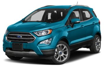 2019 Ford EcoSport - Blue Candy Metallic Tinted Clearcoat