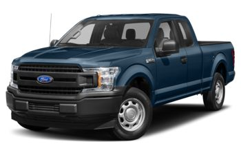 2018 Ford F-150 - Blue Jeans Metallic