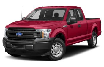 2020 Ford F-150 - Vermillion Red