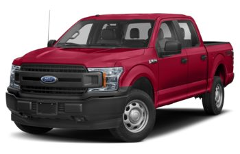 2019 Ford F-150 - Vermillion Red