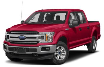 2020 Ford F-150 - Rapid Red Metallic Tinted Clearcoat