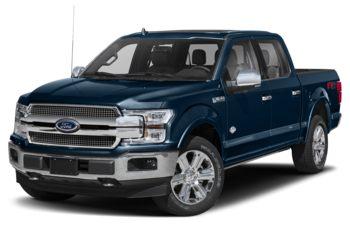 2018 Ford F-150 - Blue Jeans Metallic
