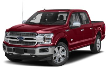 2018 Ford F-150 - Ruby Red Metallic Tinted Clearcoat