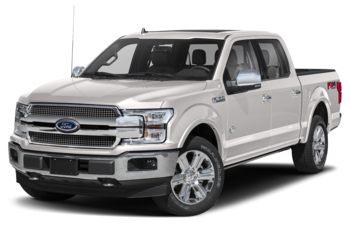 2018 Ford F-150 - White Platinum Metallic Tri-Coat
