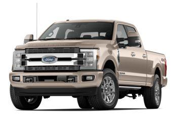 2018 Ford F-350 - White Gold Metallic