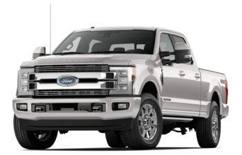 2018 Ford F-350 - White Platinum Tri-Coat Metallic