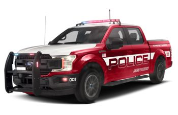 2019 Ford F-150 Police Responder - Race Red