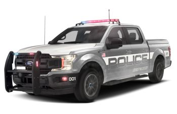 2019 Ford F-150 Police Responder - Ingot Silver Metallic