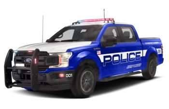 2019 Ford F-150 Police Responder - Velocity Blue Metallic