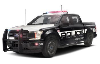 2019 Ford F-150 Police Responder - Agate Black