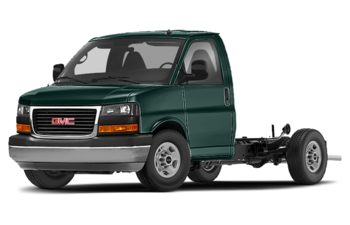 2020 GMC Savana Cutaway - Woodland Green
