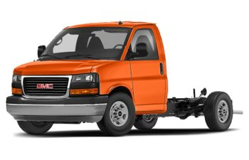 2020 GMC Savana Cutaway 4500 - Tangier Orange