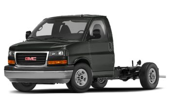 2018 GMC Savana Cutaway 4500 - Dark Slate Metallic