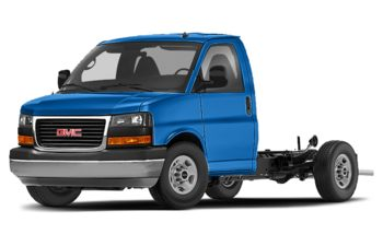 2020 GMC Savana Cutaway - Marine Blue Metallic