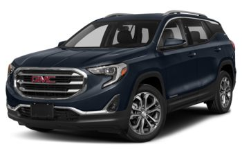 2018 GMC Terrain - Blue Steel Metallic