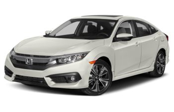 2018 Honda Civic - White Orchid Pearl