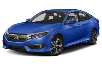 2018 Honda Civic - Aegean Blue Metallic