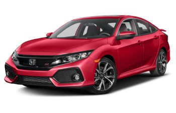 2018 Honda Civic - Rallye Red