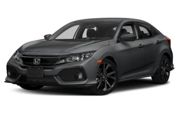 2018 Honda Civic Hatchback - Polished Metal Metallic