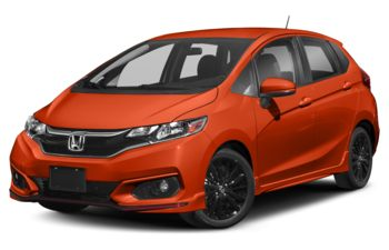 2018 Honda Fit - Orange Fury