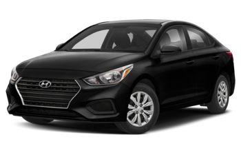 2019 Hyundai Accent - Aurora Black Pearl