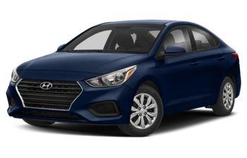 2019 Hyundai Accent - Azure Blue Pearl