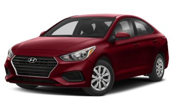 2018 Hyundai Accent - Fiery Red