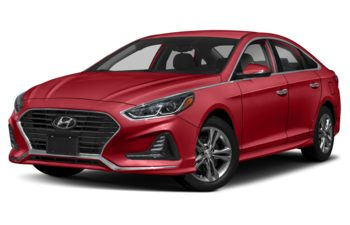 2019 Hyundai Sonata - Fiery Red