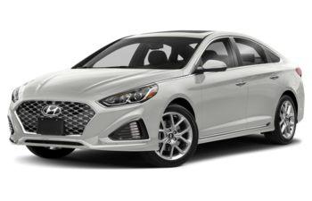 2018 Hyundai Sonata - Ice White
