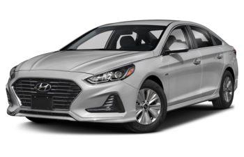 2019 Hyundai Sonata Hybrid - Ion Silver