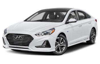2019 Hyundai Sonata Hybrid - Hyper White