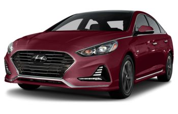 2018 Hyundai Sonata Plug-In Hybrid - Cosmopolitan Red