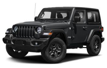 2019 Jeep Wrangler - Ocean Blue Metallic