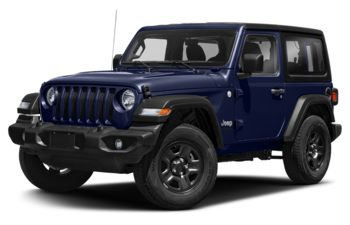 2020 Jeep Wrangler - Ocean Blue Metallic