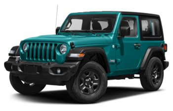2019 Jeep Wrangler - Firecracker Red