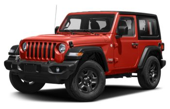 2021 Jeep Wrangler - Firecracker Red