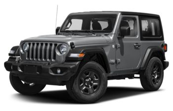 2021 Jeep Wrangler - Billet Silver Metallic