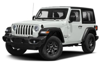 2021 Jeep Wrangler - Bright White