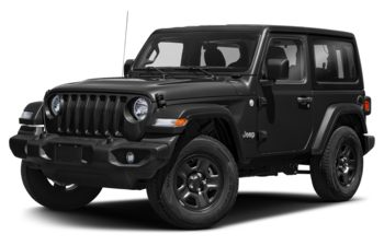 2019 Jeep Wrangler - Black