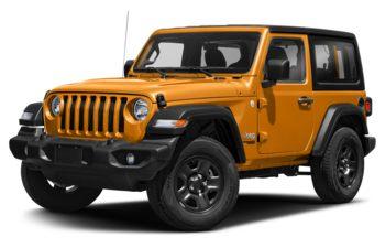 2019 Jeep Wrangler - Hellayella