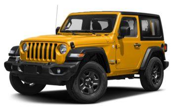 2020 Jeep Wrangler - Hellayella