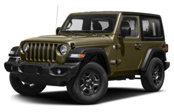 2020 Jeep Wrangler - Sarge Green