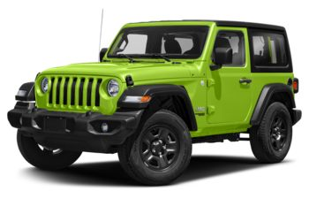 2021 Jeep Wrangler - Gecko Pearl